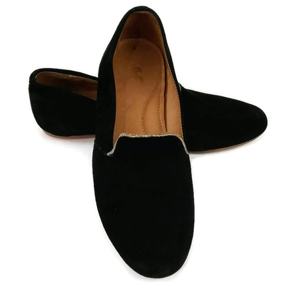 Sseko Shoes   Sseko Womens Black Suede Loafer Slip On Shoes   Poshmark